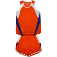 Детски баскетболен екип в оранжево, синьо и бяло СПОРТНИ СТОКИ
