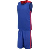 Баскетболен екип, потник с шорти в синьо и червено СПОРТНИ СТОКИ