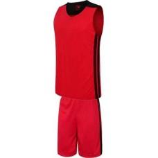 Баскетболен екип, потник с шорти в червено и черно СПОРТНИ СТОКИ