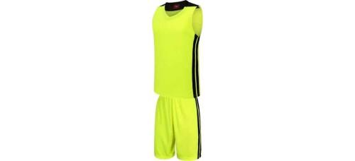 Баскетболен екип, потник с шорти в неоново зелено и черно СПОРТНИ СТОКИ