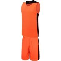 Баскетболен екип, потник с шорти в неоново оранжево и черно СПОРТНИ СТОКИ