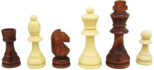 Дървени фигури за шах 4.5-9см. ШАХ И ТАБЛА