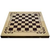Буков шах и табла за ценители 48см. ШАХ И ТАБЛА