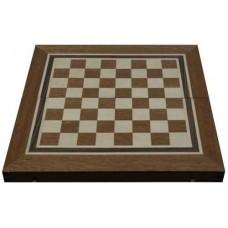 Шах и табла с махагонов фурнир за ценители 48см. ШАХ И ТАБЛА
