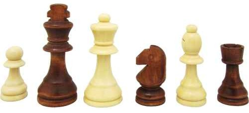 Дървени фигури за шах ШАХ И ТАБЛА