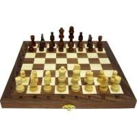 Шах и табла от дърво, 35 см. с фигури 3-7 с.м ШАХ И ТАБЛА