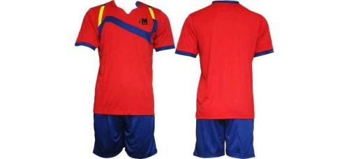 Екип за футбол и волейбол в червено, синьо и жълто СПОРТНИ СТОКИ