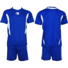 Екип за футбол и волейбол в синьо и бяло СПОРТНИ СТОКИ