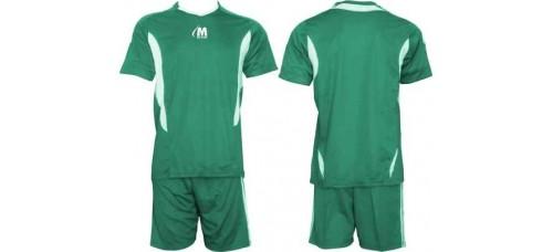 Екип за футбол и волейбол в зелено и бяло СПОРТНИ СТОКИ