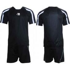 Футболен екип за футбол и волейбол в черно и бяло СПОРТНИ СТОКИ