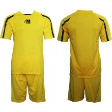 Екип за футбол и волейбол в жълто и черно СПОРТНИ СТОКИ