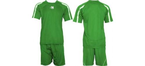 Екип за футбол, волейбол, хандбал в зелено и бяло СПОРТНИ СТОКИ