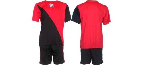 Футболен, волейболен екип  в червено и черно СПОРТНИ СТОКИ