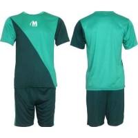 Футболен, волейболен екип в зелено и тъмно зелено СПОРТНИ СТОКИ