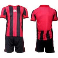 Футболен, волейболен екип, комплект в червено и черно СПОРТНИ СТОКИ