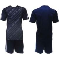 Футболен, волейболен екип фланелка с шорти в тъмно синьо и бяло СПОРТНИ СТОКИ
