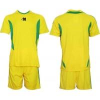 Футболен екип, комплект в жълто и зелено СПОРТНИ СТОКИ