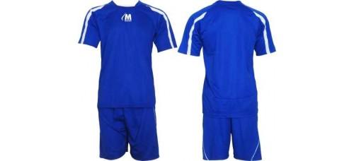 Футболен, волейболен екип фланелка с шорти в синьо и бяло СПОРТНИ СТОКИ