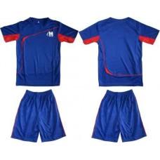 Детски екип за футбол и волейбол в синьо и червено СПОРТНИ СТОКИ