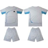 Детски футболен, волейболен екип, комплект в бяло и синьо СПОРТНИ СТОКИ