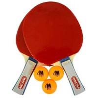 Комплект 2 броя хилки за тенис с три топчета и калъф СПОРТНИ СТОКИ