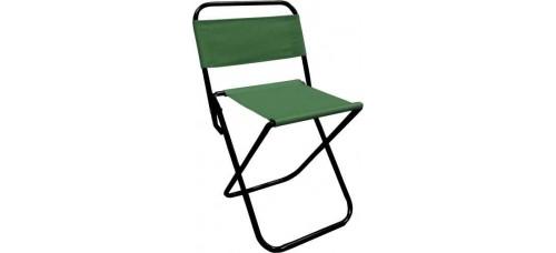 Сгъваем стол  с облегалка за къмпинг и риболов СПОРТНИ СТОКИ