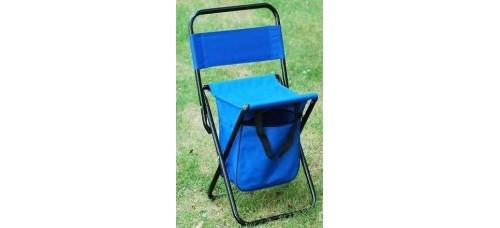 Сгъваем стол с  облегалка и торба за къмпинг и риболов ТУРИЗЪМ