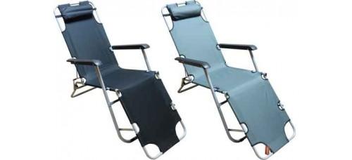 Сгъваем стол, шезлонг, легло 3 в 1 за къмпинг и туризъм ТУРИЗЪМ