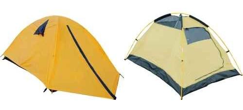 Двуместна, двуслойна палатка с размери 190x130x100 см ТУРИЗЪМ