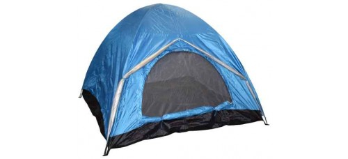 Триместна двуслойна палатка 190х190х130см. ТУРИЗЪМ