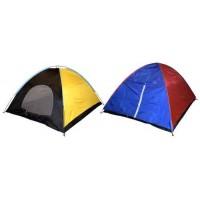 Палатка триместна, двуслойна 205х235х135 см ТУРИЗЪМ
